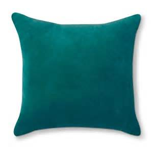Sofa Pillows Target Threshold Velvet Throw Pillow Target