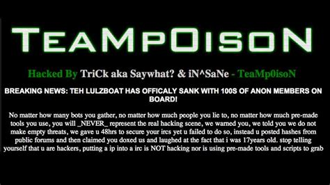 hacker group hacker vs hacker rival group claims to hack lulzsec