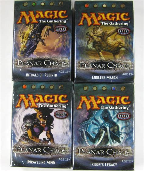 magic decks kaufen magic the gathering planar chaos theme deck set engl ebay