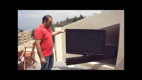 Tv Lsidi tv bracket slide out and rotate by martontechnologies