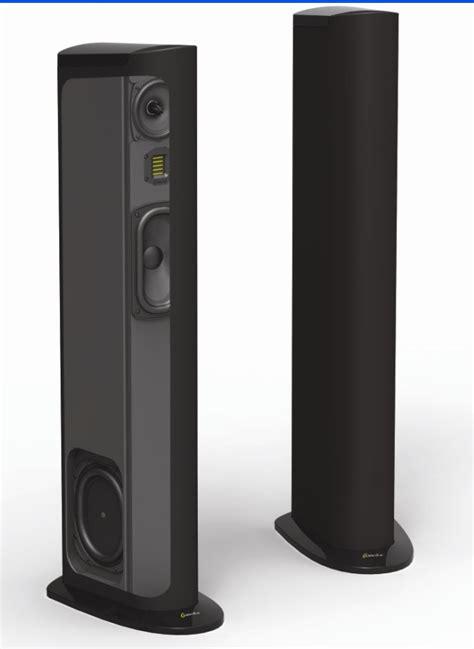goldenear triton  tower loudspeaker preview audioholics
