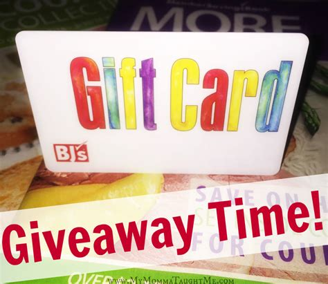 Bjs Disney Gift Cards - enter to win 25 bj s gift card my momma taught me