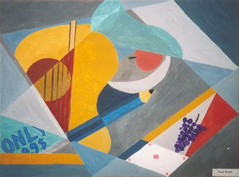 Synthetischer Kubismus Picasso by Tgg Leer Kubismus Malerei