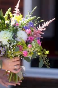 country garden bouquet 6 wedding flowers