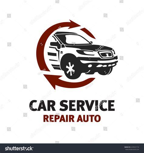 car service logo car service logo template automotive repair stock vector