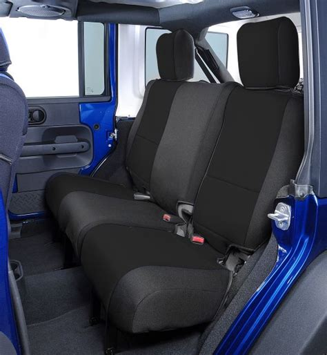2007 jeep wrangler x seat covers all things jeep neoprene rear seat covers for jeep