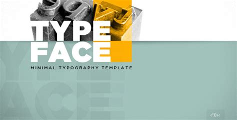 html5 typography typeface minimal typography html5 template by pezflash