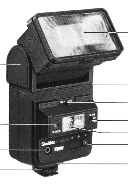Starblitz Flash instruction manual, SURE-LITE 2600, user