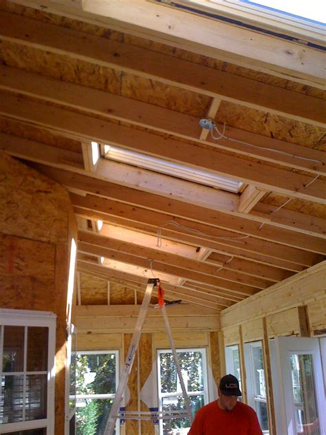 framing a vaulted ceiling framing vaulted ceiling with skylights