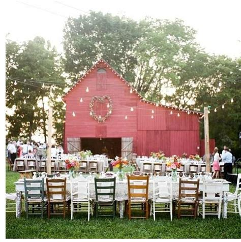 shabby chic outdoor wedding my wedding day pinterest