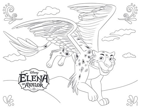 printable coloring pages elena of avalor elena of avalor disney coloring pages miejsca do