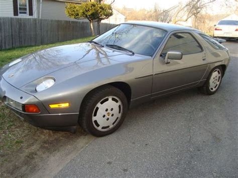 buy used 1989 porsche 928 with very true low miles and manual transmission in bradenton florida find used 1989 porsche 928 s4 v8 5 0l engine with 142842 miles classic excellent condition in