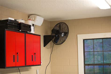 wall mount garage fan safety wall mount garage fan