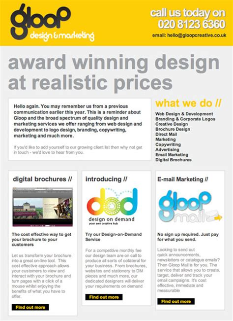 newsletter design ideas