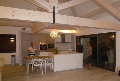 Design A House Plan cuisine poutres apparentes architecte perpignan arche