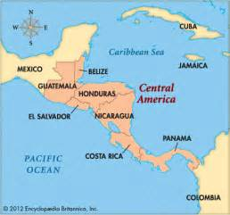 Central America Map Countries by Central America Kids Encyclopedia Children S Homework