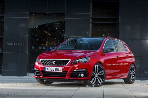 peugeot build and peugeot 308 and opel astra facelift renderings will make