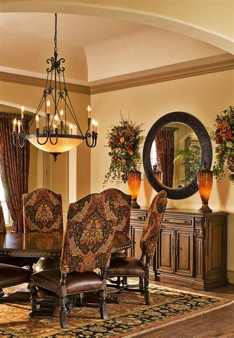 tuscan style dining room tuscan style dining room tuscan decor pinterest