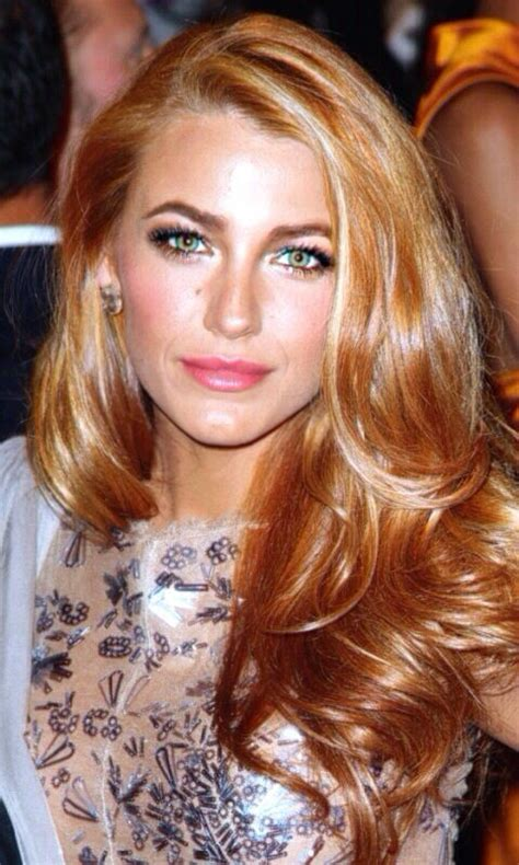 brands of srawberry blonde color shadeshair i love blake lively s makeup and strawberry golden