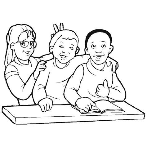 imagenes de niños jugando para colorear e imprimir ni 241 os jugando en la escuela para colorear e imprimir