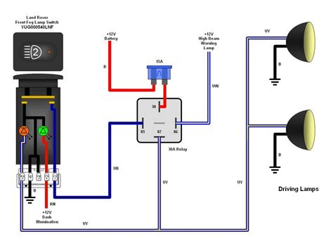 defender spotlight wiring diagram wiring diagram with