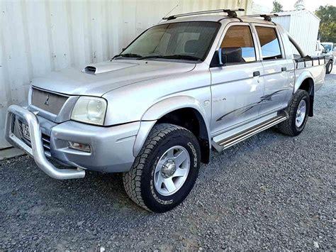 mitsubishi triton 2005 mitsubishi triton glx r 2005 silver used vehicle sales