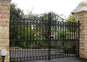 Decorative Iron Gates by Decorative Metal Garden Gates Interesting Ideas For Home