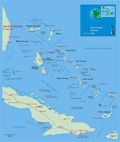 map of usa and bahamas large detailed political and administrative map of bahamas