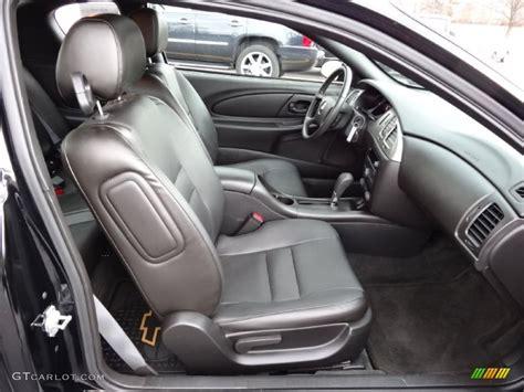 black interior 2007 chevrolet monte carlo ss photo
