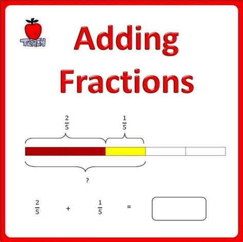 adding fractions with area models worksheets adding
