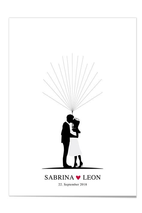 Hochzeit Fingerabdruck by Fingerprint Poster Zur Hochzeit Design Grusskarten