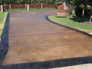 How To Clean Stained Concrete Patio by Gallery For Gt Driveway Stained Concrete