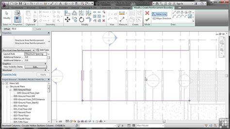 revit tutorial walls revit structure 2014 tutorial reinforcing walls floors