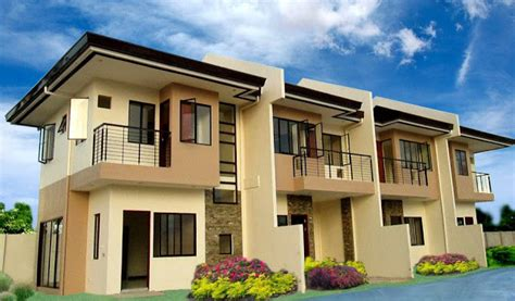 Row Houses Floor Plans by Anami Homes Mactan In Sudtunggan Basak Lapu Lapu