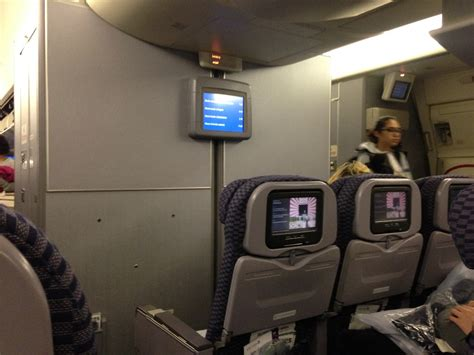 now playing at 35 000 feet united airlines adds free entertain review of united flight from paris to newark in economy