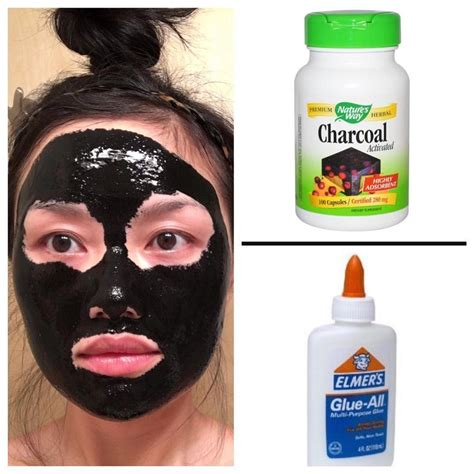the 25 best diy charcoal mask ideas on