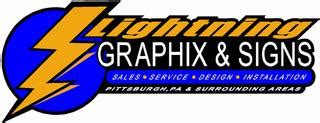Graphix Signs And Design | lightning graphix and signs llc callery pa 16024 724