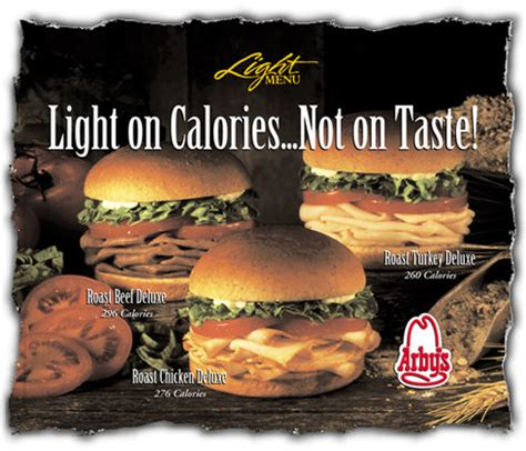 Arby's Nutritional Information Arby S Nutritional Information