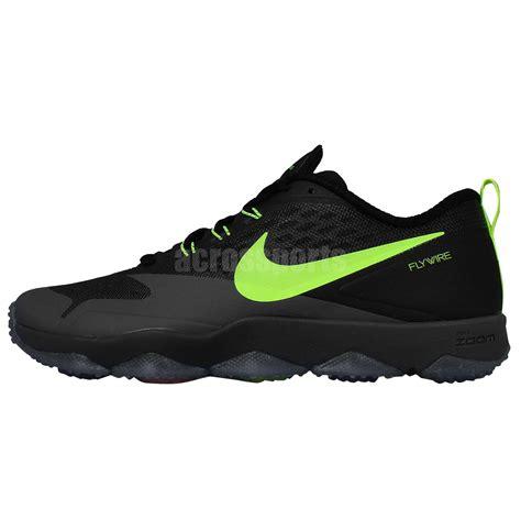 nike crosstrainer shoes nike zoom hypercross tr black volt flywire mens cross