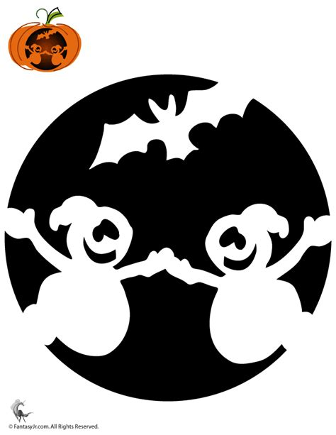 ghost pumpkin template ghosts pumpkin stencil pumpkins