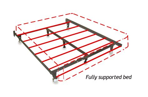 extra strong bed frame heavy duty metal bed frame universal size