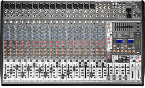 Daftar Mixer Behringer 24 Channel behringer sx2442fx console mixer features 16 mic inputs 8 stereo inputs and 4 buses give you