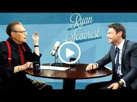 Larry King Wants Seacrest As His Successor by Seacrest Larry King Now Ora Tv