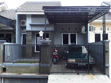 gambar garasi mobil rumah sederhana rumah impian