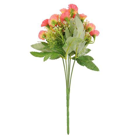 25 Heads Artificial Fake Silk Carnation Flower Home Garden Artificial Flowers For Garden