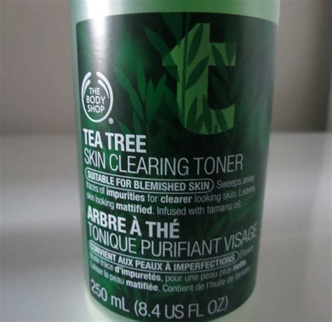 Toner Tea Tree The Shop The Shop Tea Tree Toner Update The Musings Of A