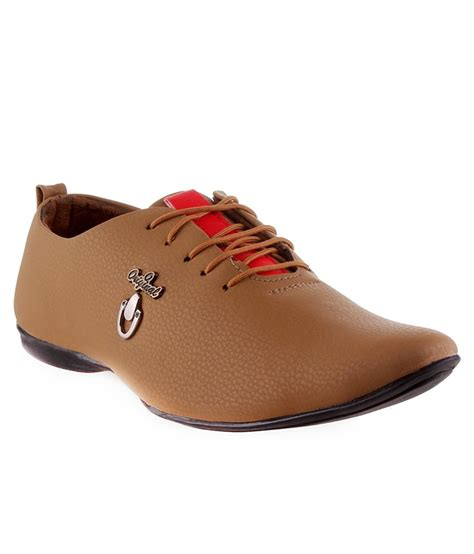 buy austic india brown casual shoes for snapdeal