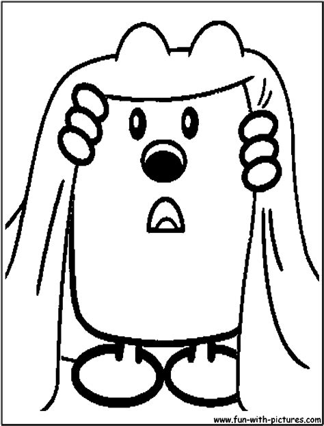 wow wow wubbzy printable coloring pages coloring home