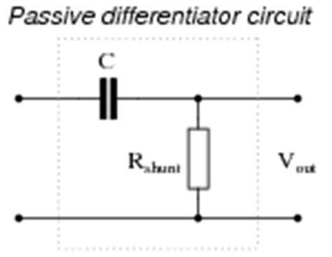integrator circuit passive passive integrator and differentiator circuits ac electric circuits worksheets