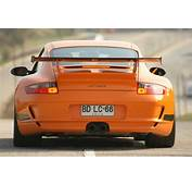 Orange 997 GT3 RS Rear Viewjpg  Wikimedia Commons